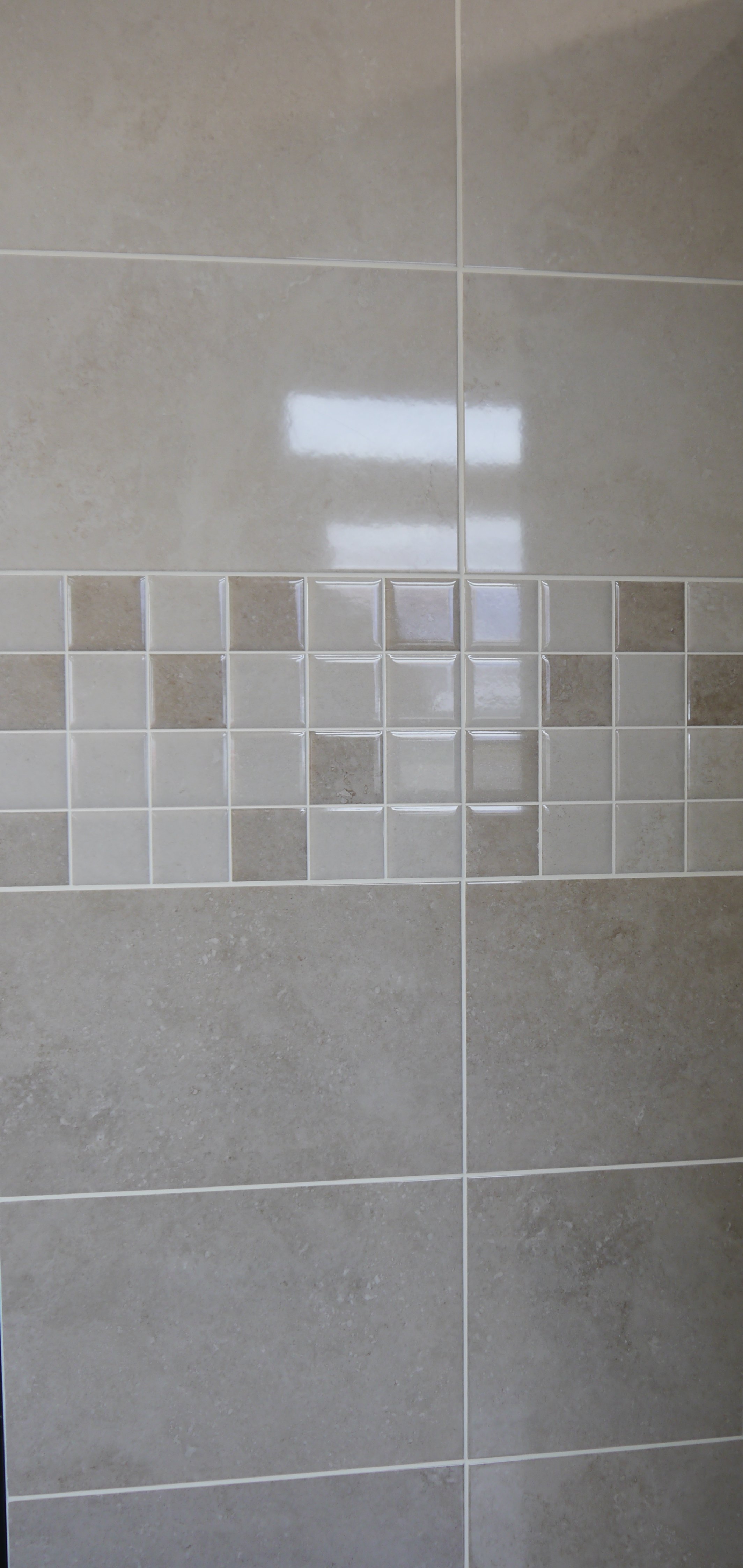 M9157 316mm X 480mm Fez Light Taupe Ceramic Wall Tile