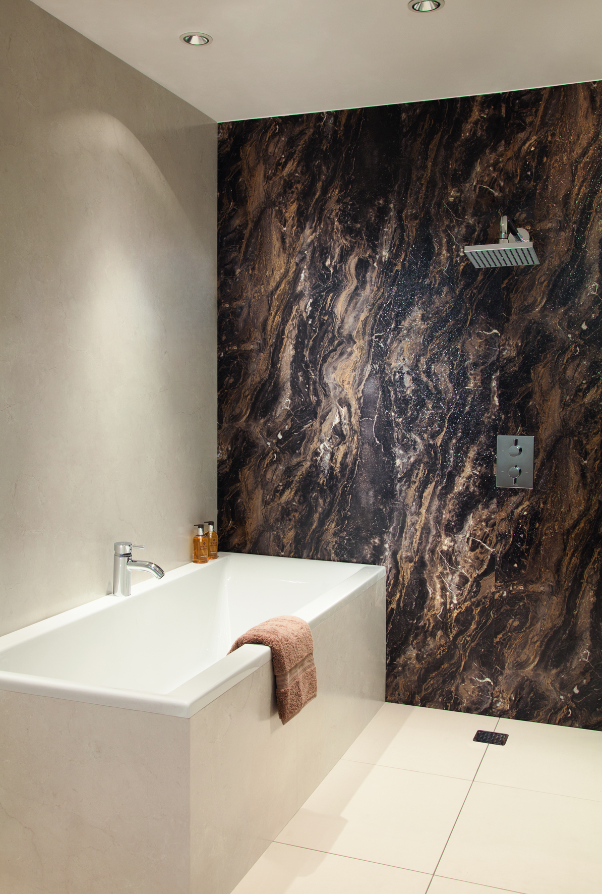 Beautiful Bathrooms With Seamless Surfaces