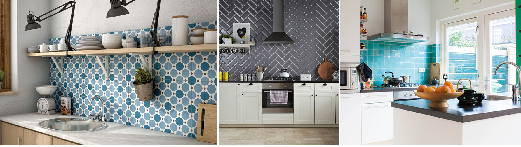 How to create a feature wall with photos - Kitchen_tiles